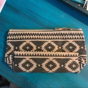 Handbags - Tribal pattern makeup bag